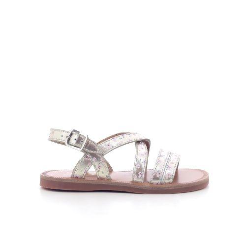 Pom d'api kinderschoenen sandaal platino 203667