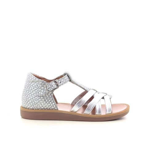 Pom d'api kinderschoenen sandaal platino 212493