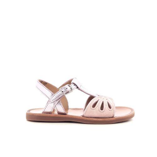 Pom d'api kinderschoenen sandaal poederrose 203668