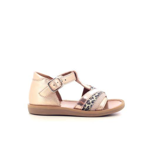 Pom d'api kinderschoenen sandaal poederrose 212501