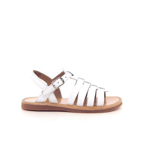 Pom d'api kinderschoenen sandaal wit 193154