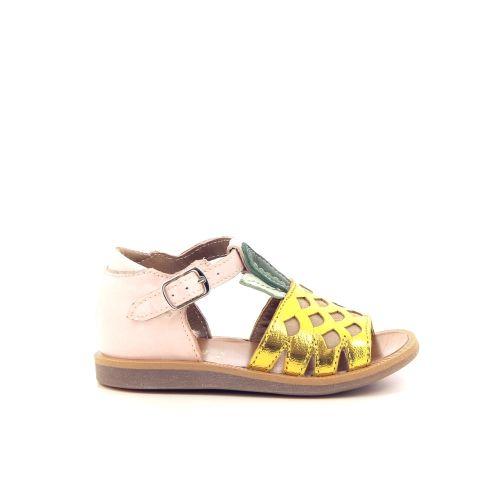 Pom d'api koppelverkoop sandaal geel 193166