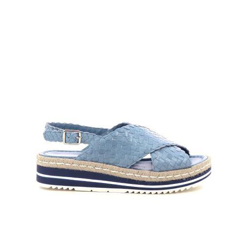 Pons quintana damesschoenen sandaal jeansblauw 214890