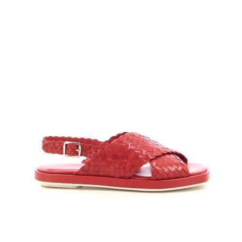 Pons quintana damesschoenen sandaal koraalrood 214905