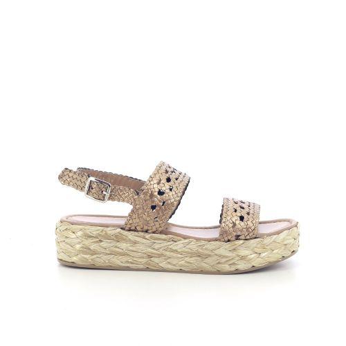 Pons quintana damesschoenen sandaal licht brons 204543