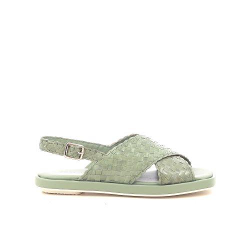 Pons quintana damesschoenen sandaal lichtgroen 214907
