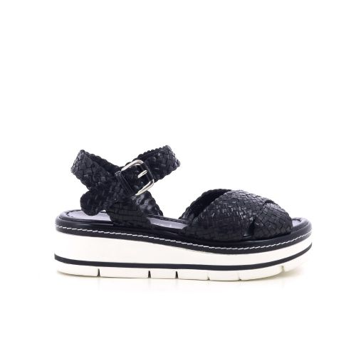 Pons quintana damesschoenen sandaal zwart 204548