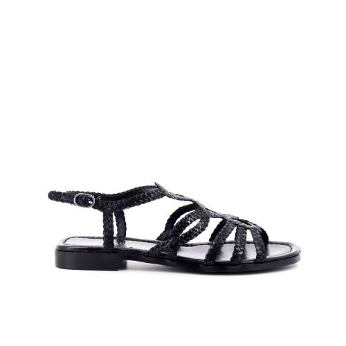 Pons quintana damesschoenen sandaal zwart 214908