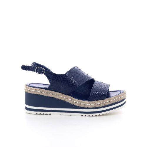 Pons quintana  sandaal donkerblauw 204555