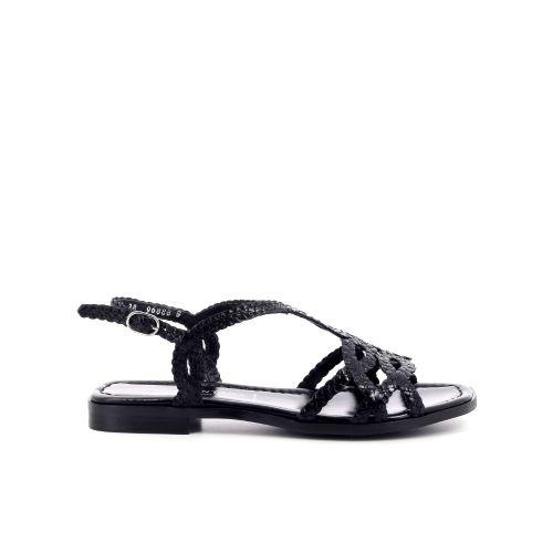 Pons quintana  sandaal zwart 204549