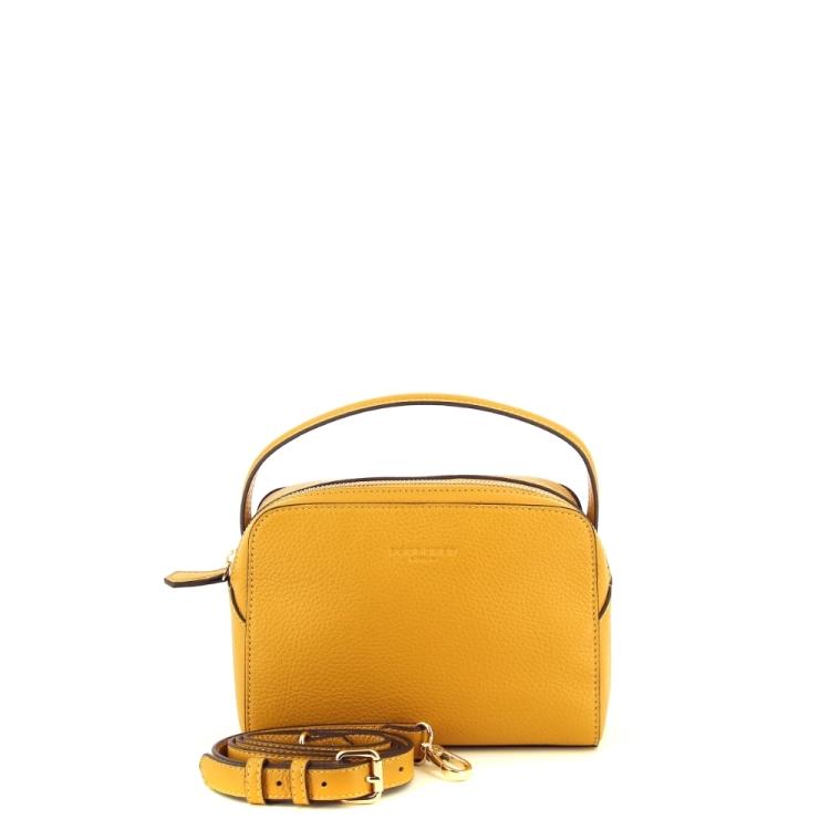 Pourchet tassen handtas geel 201432