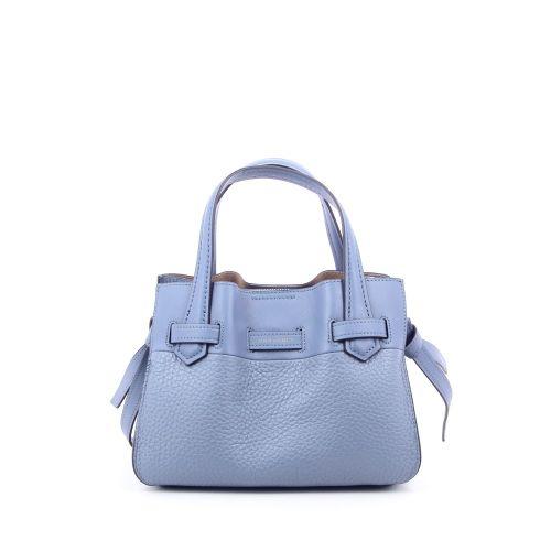Pourchet tassen handtas lichtblauw 202883