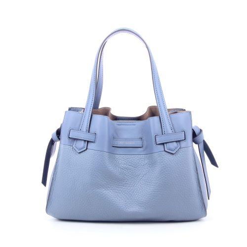 Pourchet tassen handtas lichtblauw 202886