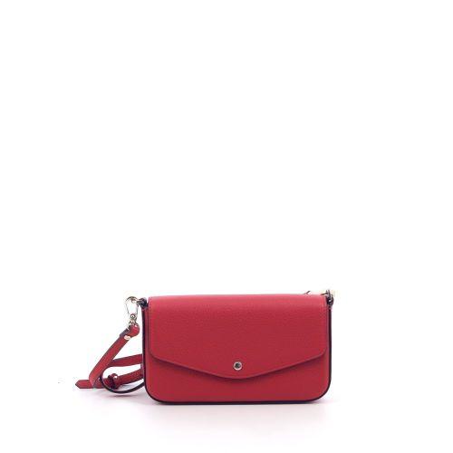 Pourchet tassen handtas rood 207006