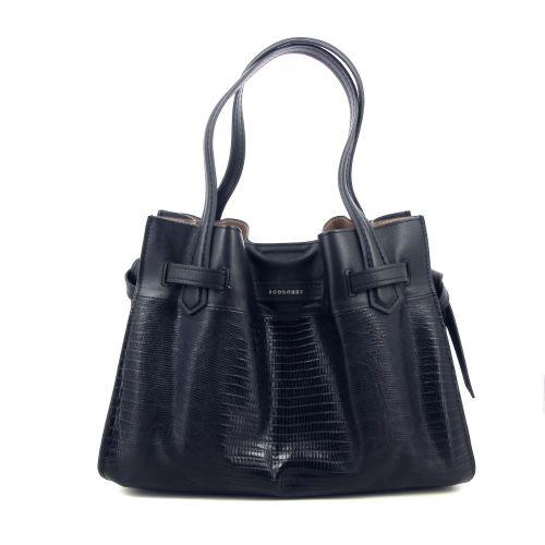 Pourchet tassen handtas zwart 219440
