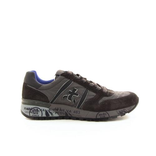 Premiata herenschoenen sneaker grijs 18526