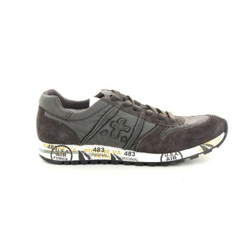Premiata herenschoenen sneaker grijs 94972