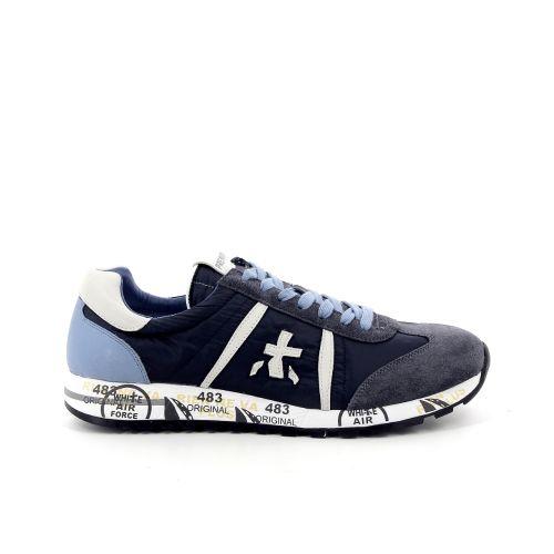 Premiata koppelverkoop sneaker jeansblauw 172669