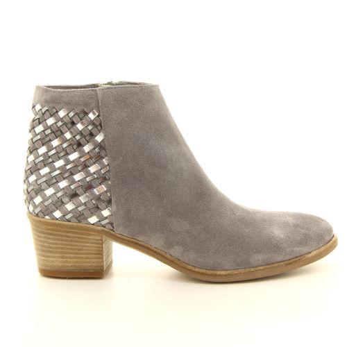 Progetto damesschoenen boots grijs 13558