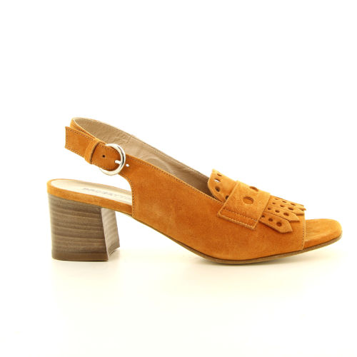 Progetto damesschoenen sandaal oranje 13632