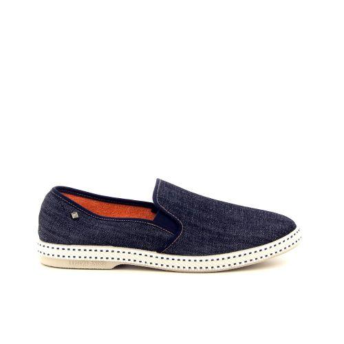 Rivieras herenschoenen sneaker jeansblauw 183608