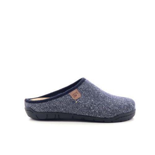 Rohde damesschoenen pantoffel blauwgrijs 210491