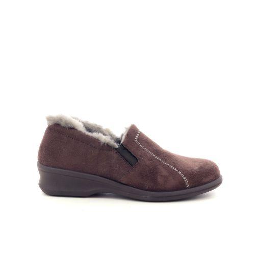 Rohde damesschoenen pantoffel d.bruin 200497