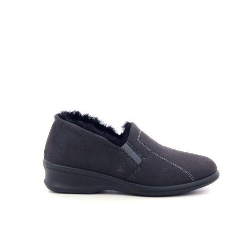 Rohde damesschoenen pantoffel d.bruin 210493