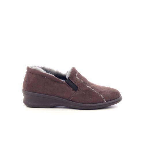 Rohde damesschoenen pantoffel d.bruin 217825