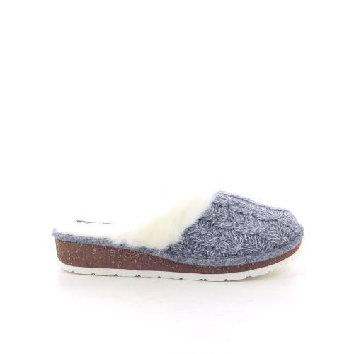 Rohde damesschoenen pantoffel grijs 200498