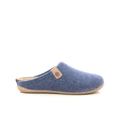 Rohde damesschoenen pantoffel jeansblauw 217816