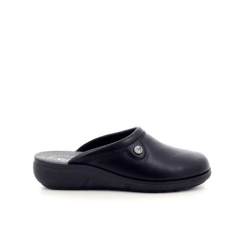 Rohde damesschoenen pantoffel zwart 217812