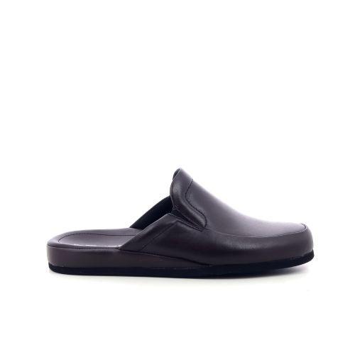 Rohde herenschoenen pantoffel bordo 205150