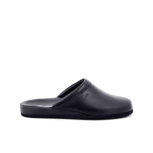 Rohde herenschoenen pantoffel zwart 199430