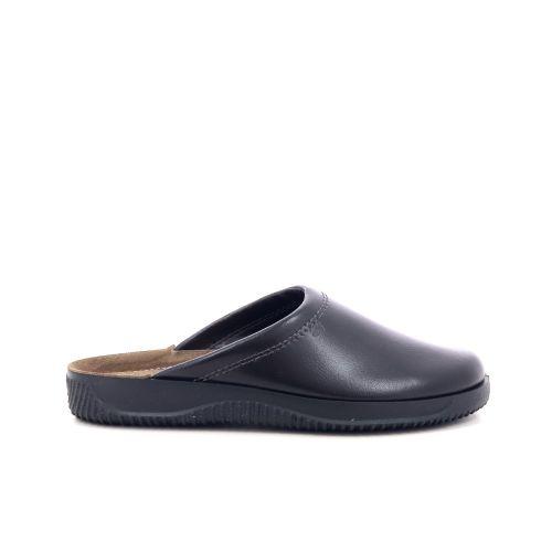 Rohde herenschoenen pantoffel zwart 205151