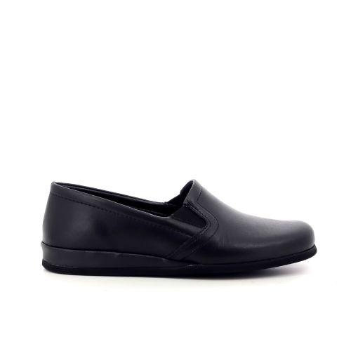 Rohde herenschoenen pantoffel zwart 209965