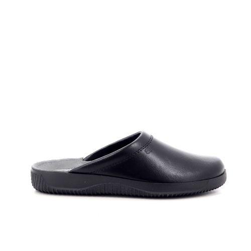 Rohde herenschoenen pantoffel zwart 214600