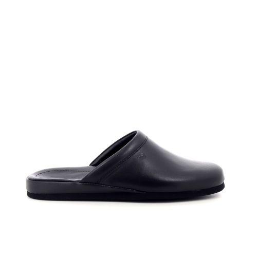 Rohde herenschoenen pantoffel zwart 214602