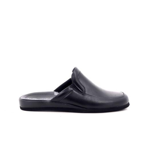 Rohde herenschoenen pantoffel zwart 214604