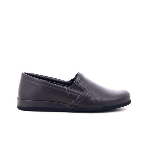 Rohde herenschoenen pantoffel zwart 216905