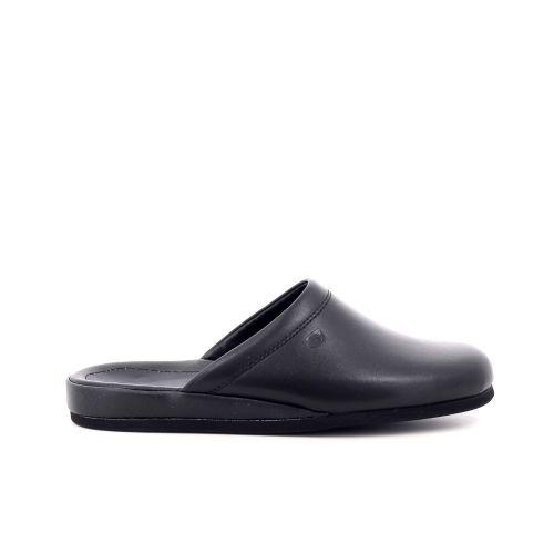 Rohde  pantoffel zwart 209955