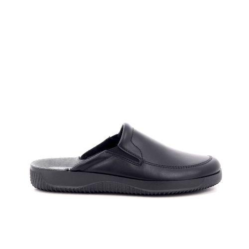 Rohde  pantoffel zwart 209959