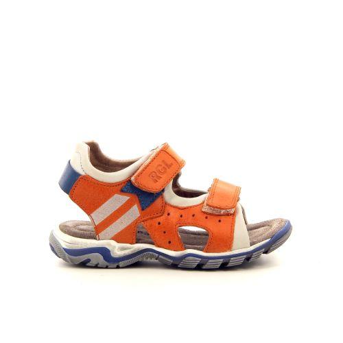 Romagnoli solden sandaal oranje 183834