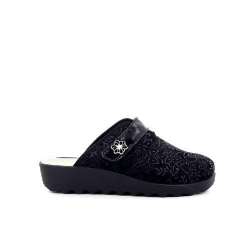 Romika damesschoenen pantoffel zwart 203704