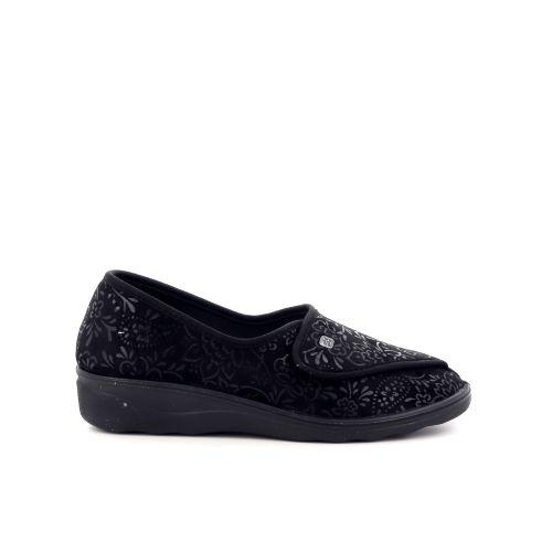 Romika damesschoenen pantoffel zwart 203705