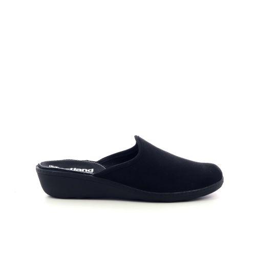 Romika damesschoenen pantoffel zwart 210485