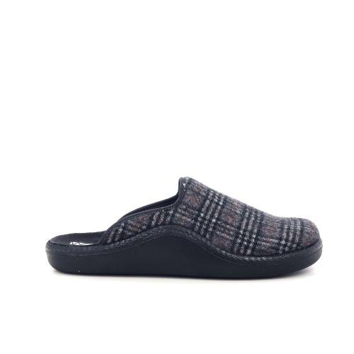 Romika  pantoffel grijs 210118