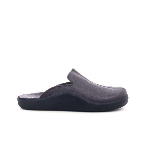 Romika herenschoenen pantoffel d.bruin 210119