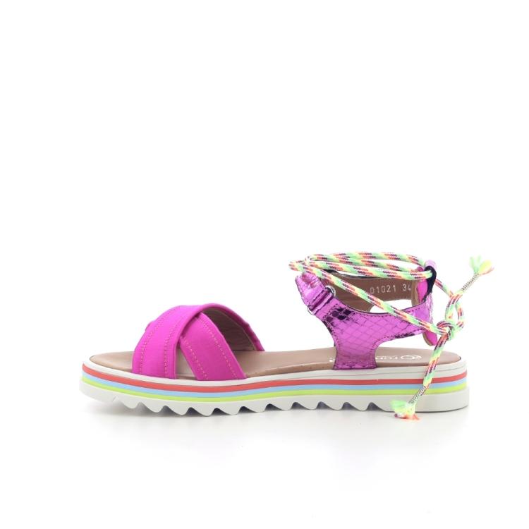 Rondinella kinderschoenen sandaal fuchsia 204954