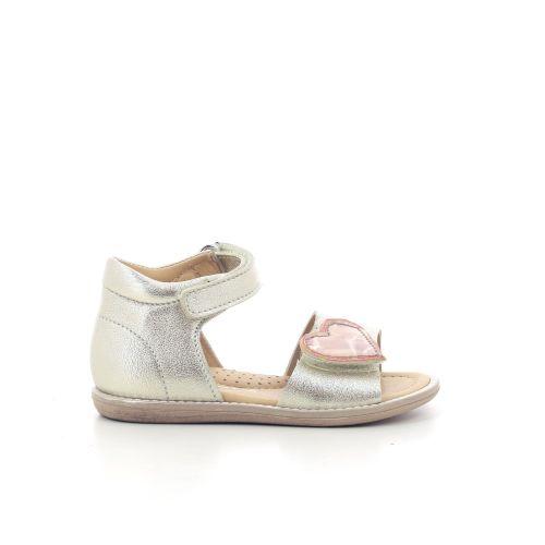 Rondinella  sandaal platino 204946